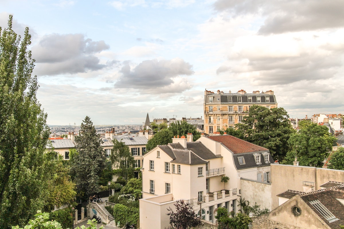 Vue de l'appartement - View from the flat