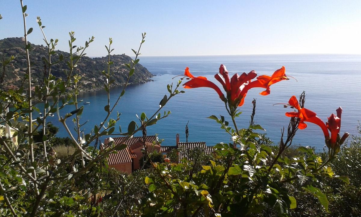 Sardinia studio panoramic view