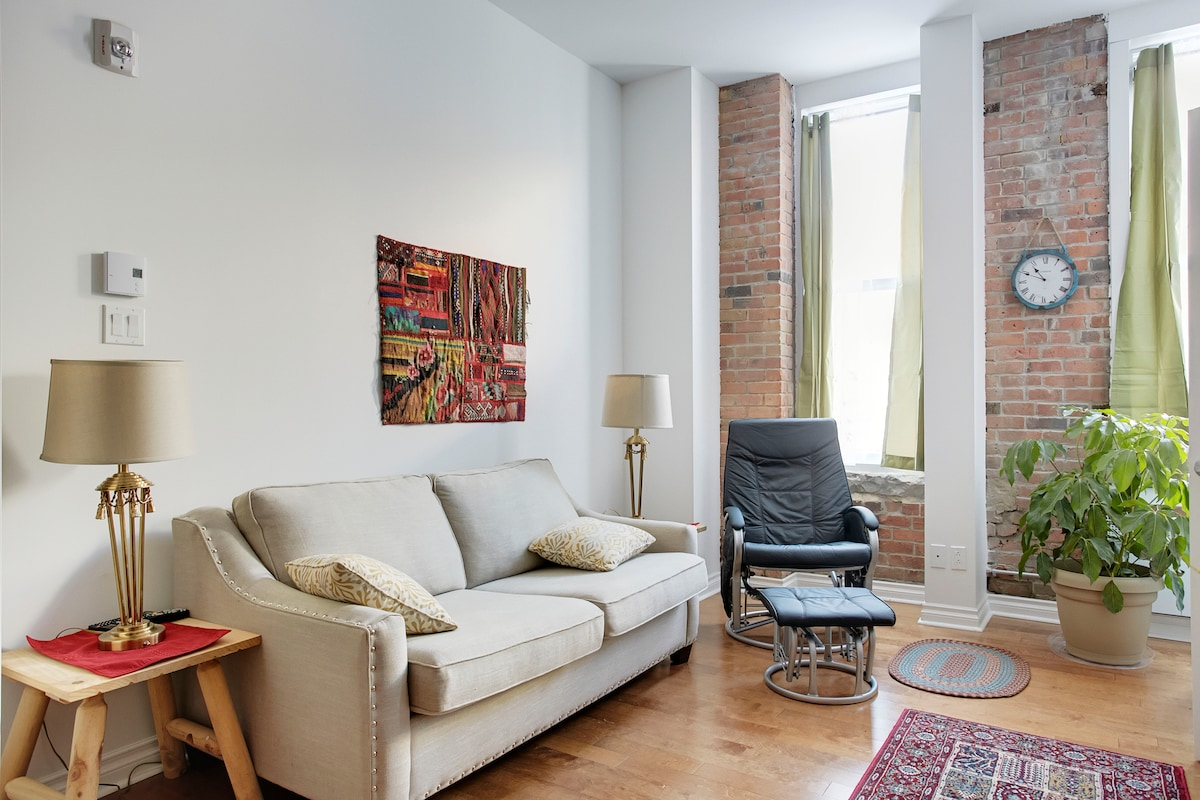 Charming 2BDR Loft in Montreal