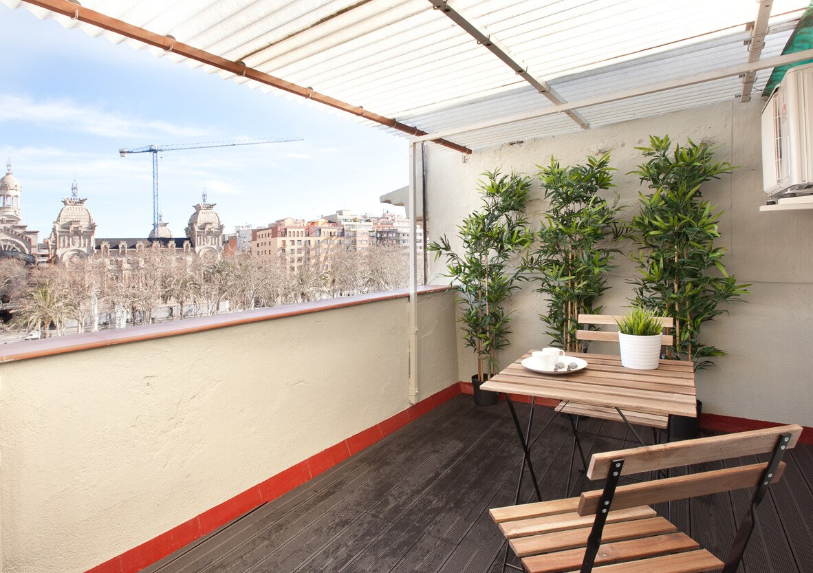 Delorean 5 *ATTIC w/private terrace