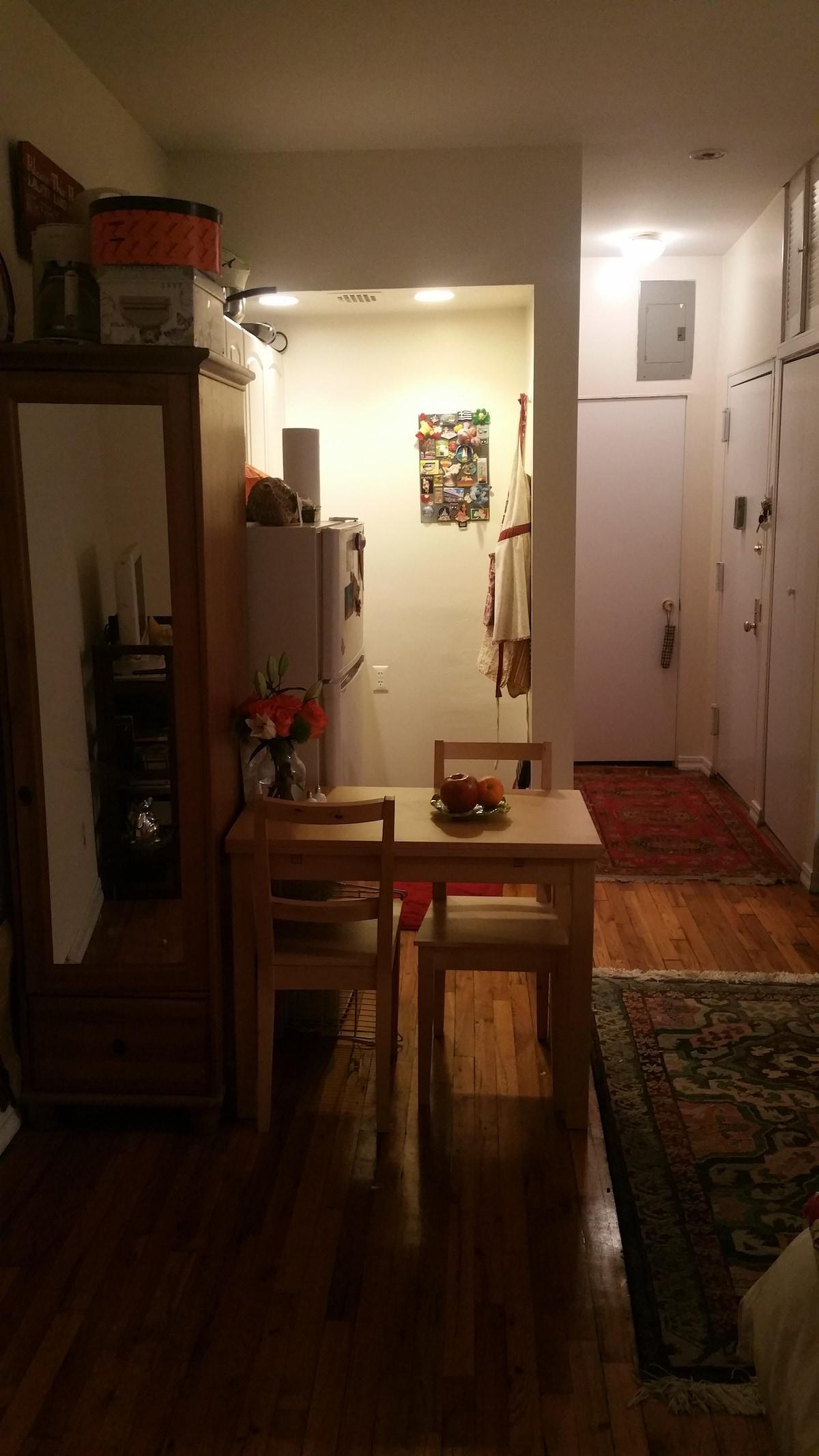 Simple, Cozy, East Village Studio!