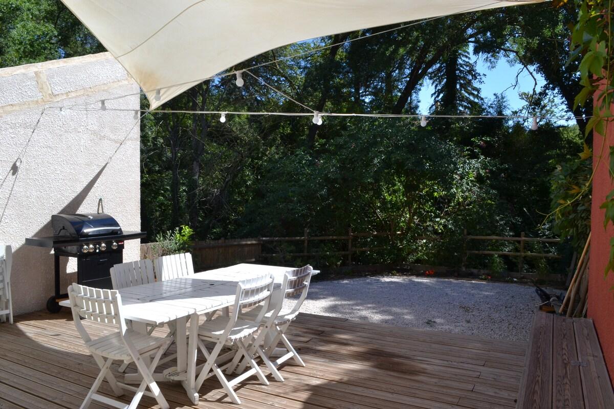 Villa avec jardin au calme