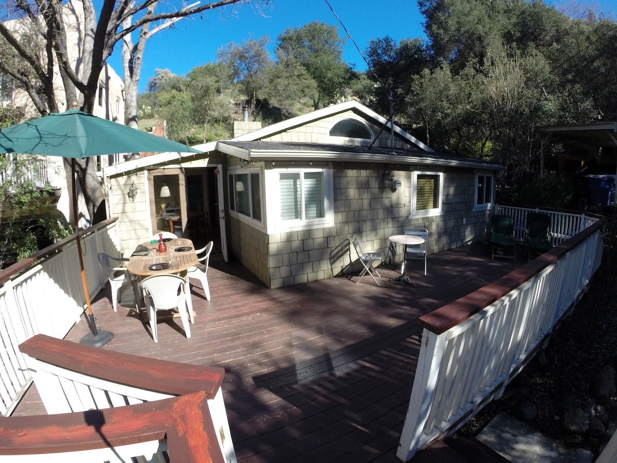 Cottage 15 minutes from Malibu