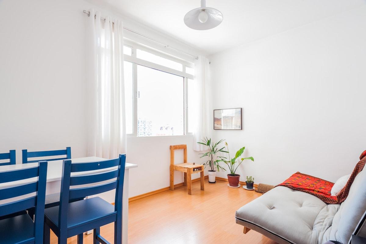 Charming apartment in Vila Madalena