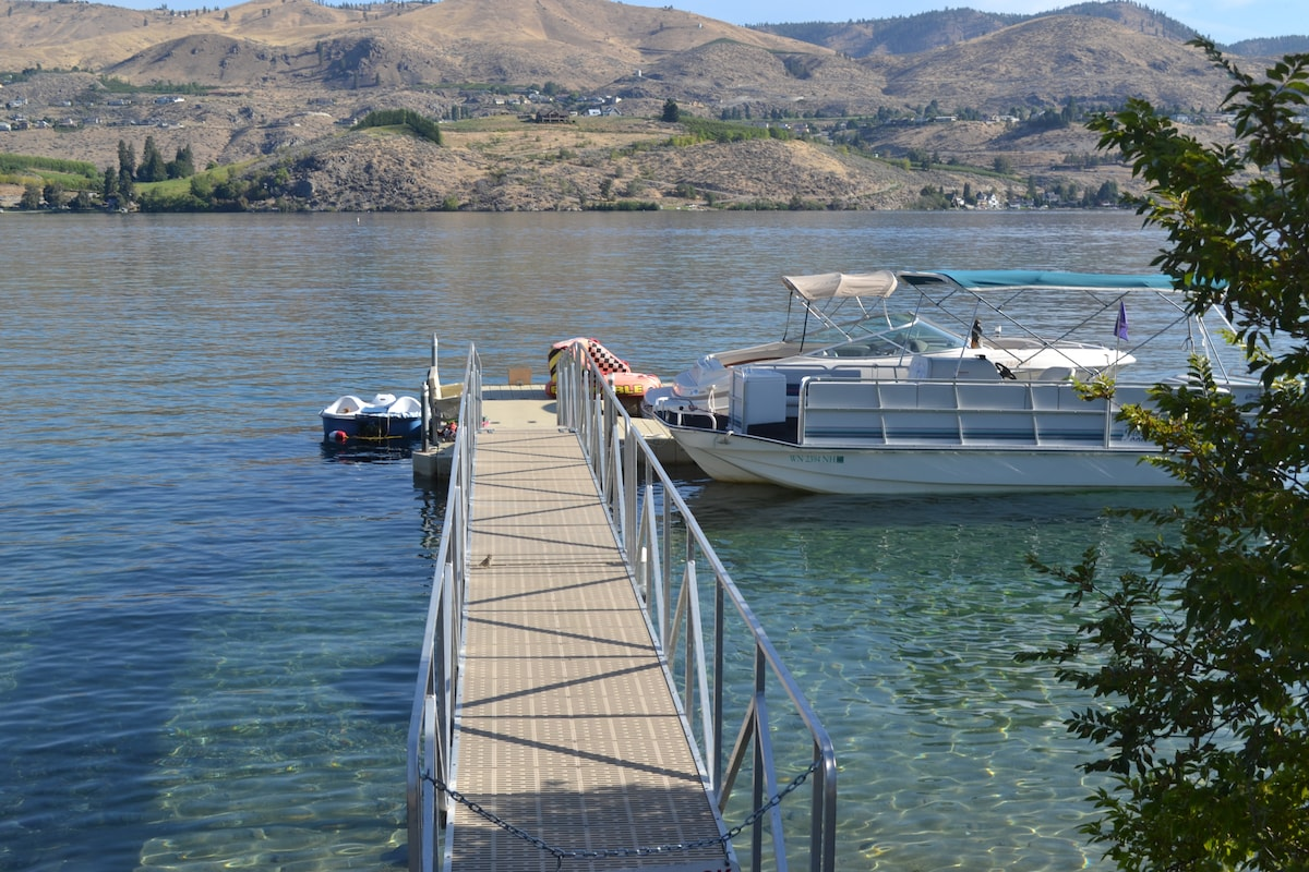 Villa For 2 at Lake Chelan w/ Dock