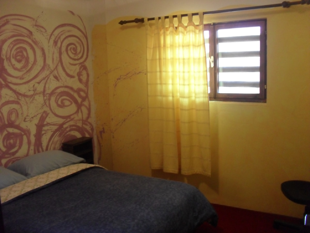 Ether room in 5 Elements Guesthouse