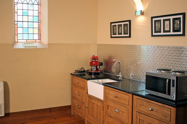 Up to date Kitchen with huge array of electrical appliances