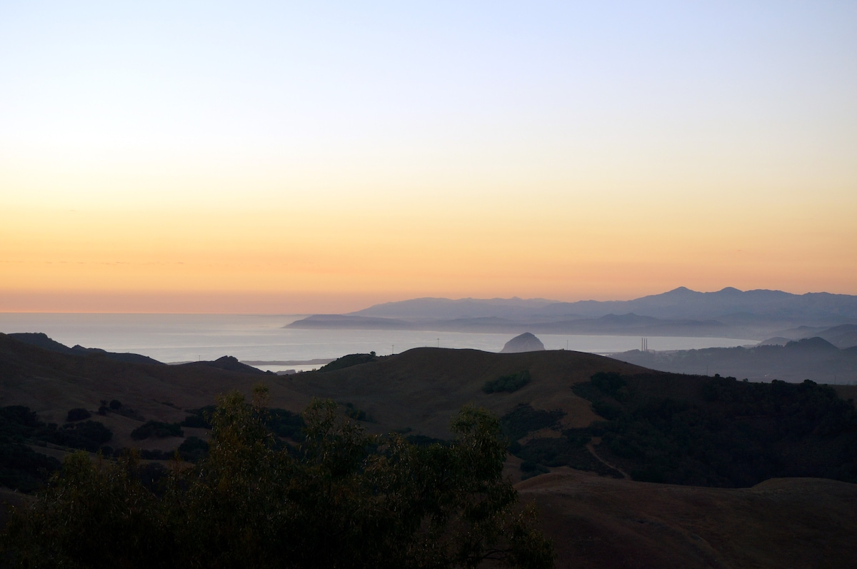 View from the deck - Is that Morro Bay to the North?