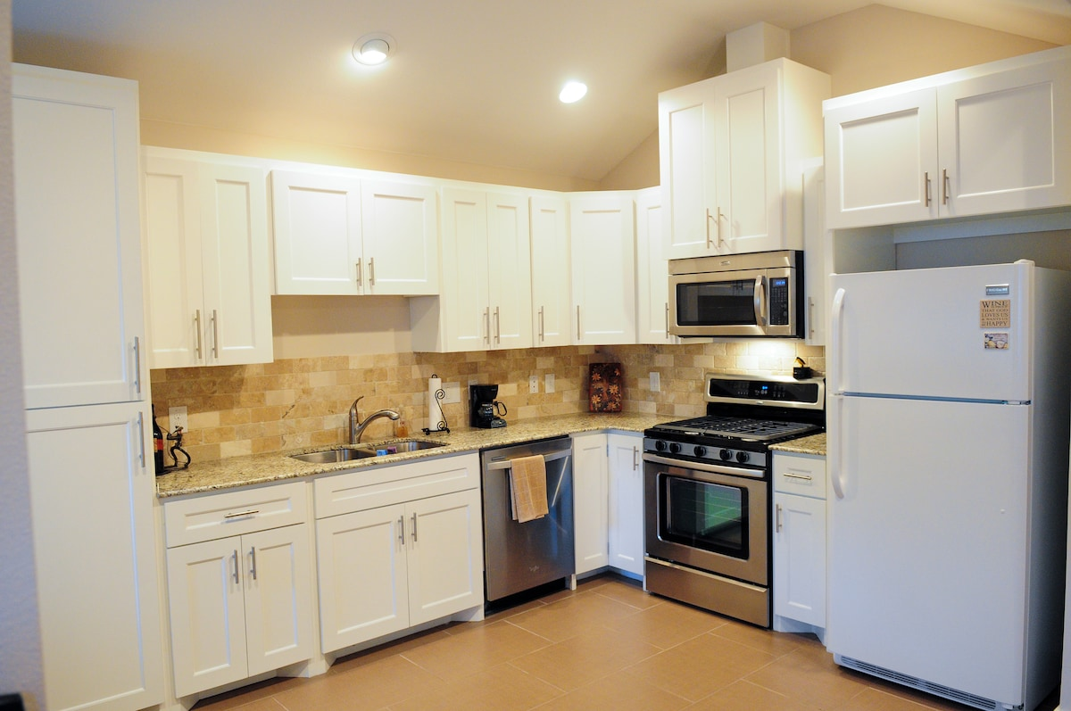 Kitchen with all new applicances