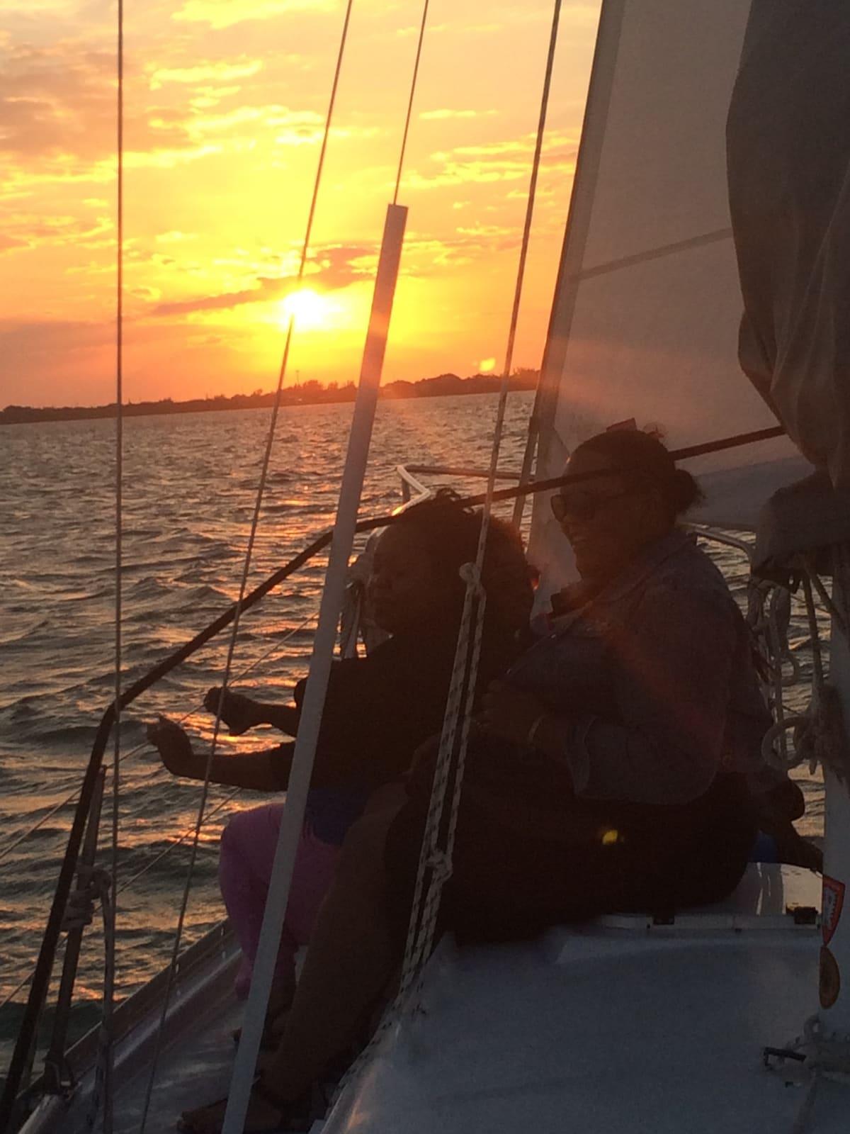 Overnight on a sailboat in Fl Keys!