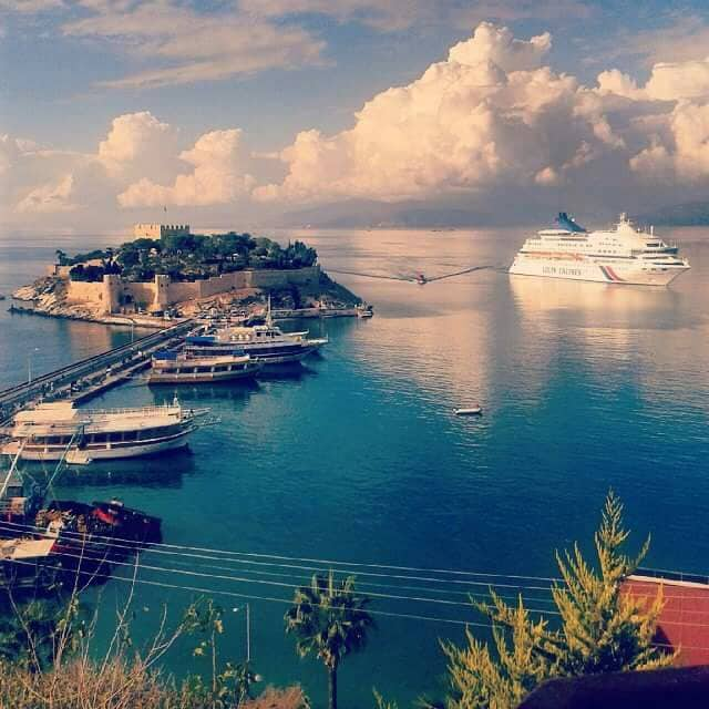 The best view in Kuşadası!