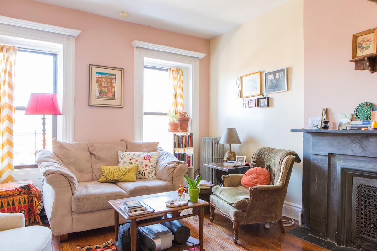 Cozy Apartment in Lovely Brownstone