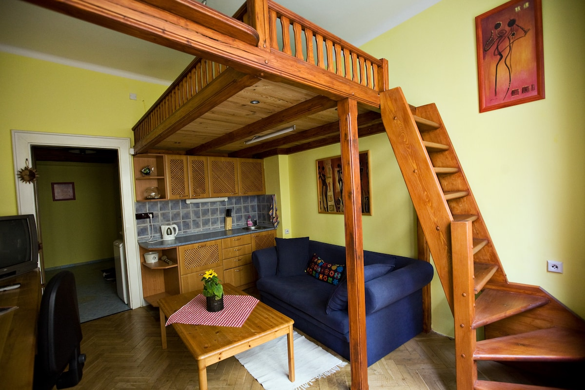 Central Prague Apt 5min to Old Town