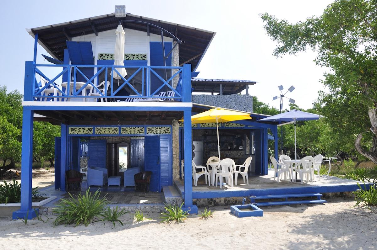 Caribbean Beach House w 80m Beach!