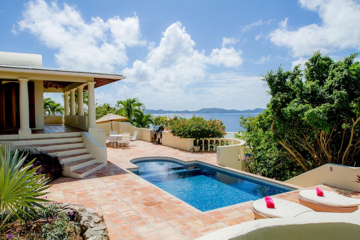 Luxe 3 BR Villa on Tortola BVI!