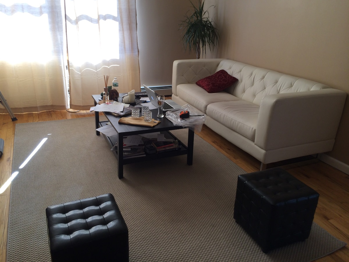 Spacious Apartment Minutes from NYC