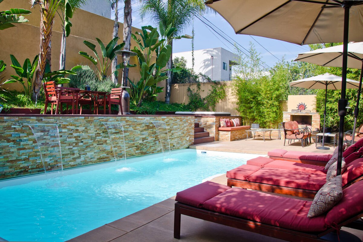 Los Feliz Oasis w/ Pool & Spa