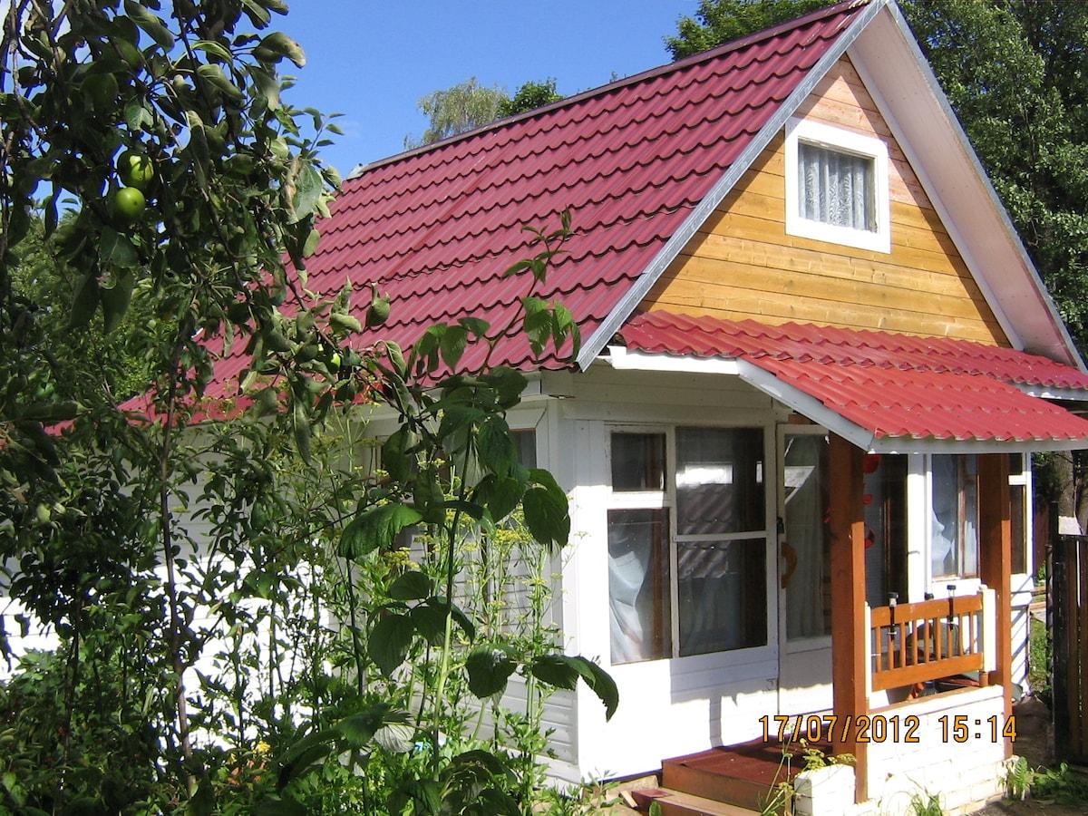 Дом в центре Валдая в 100 м от озер