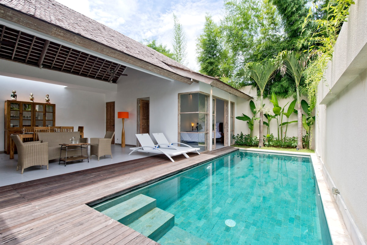 Luxury 2 bedrooms  villa with pool