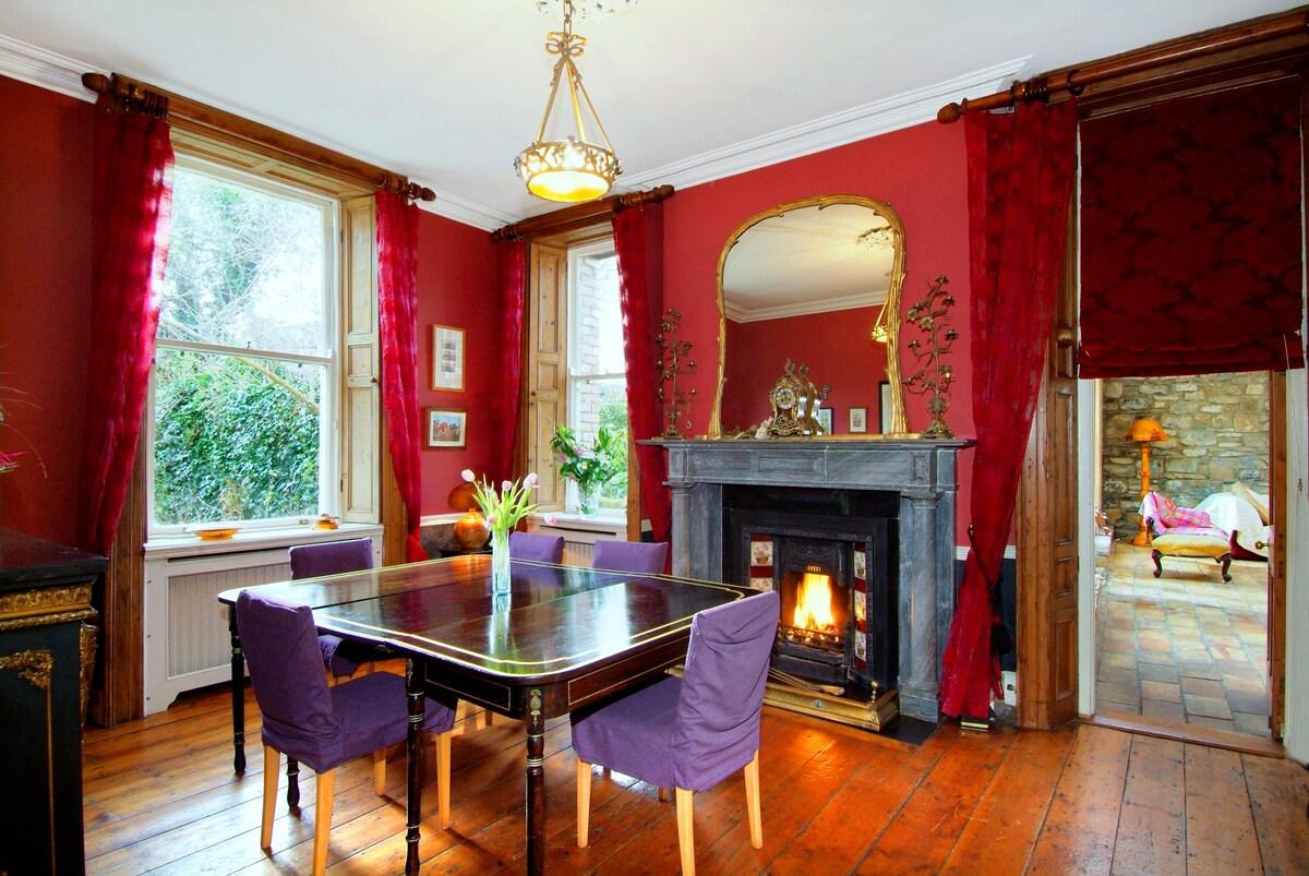 Central single room Georgian  house