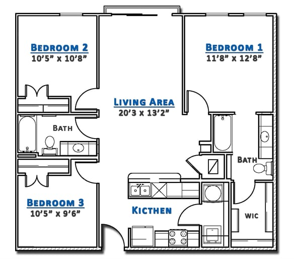 UT Area Apartment- SXSW rental