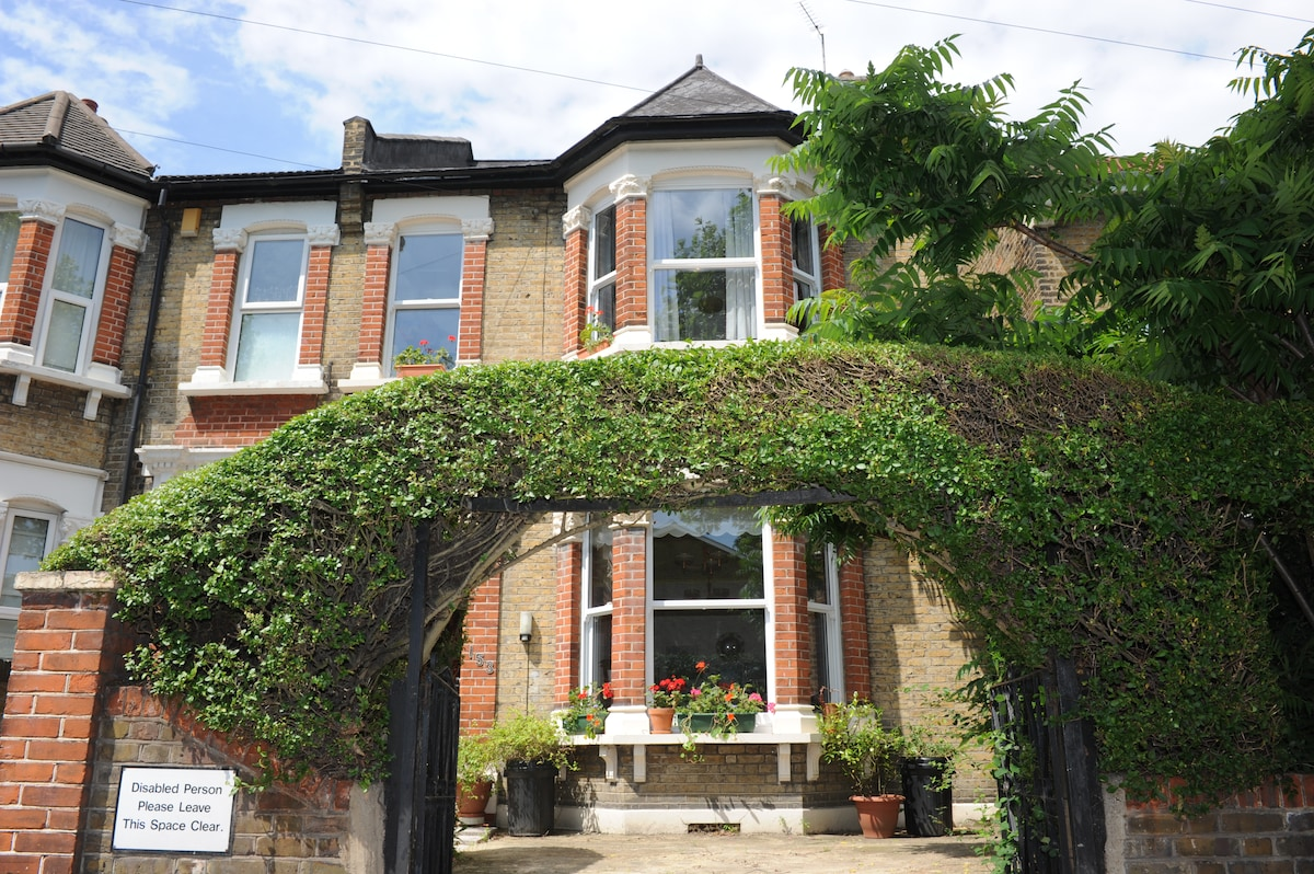 A beautiful Victorian home - and car parking space on the forecourt