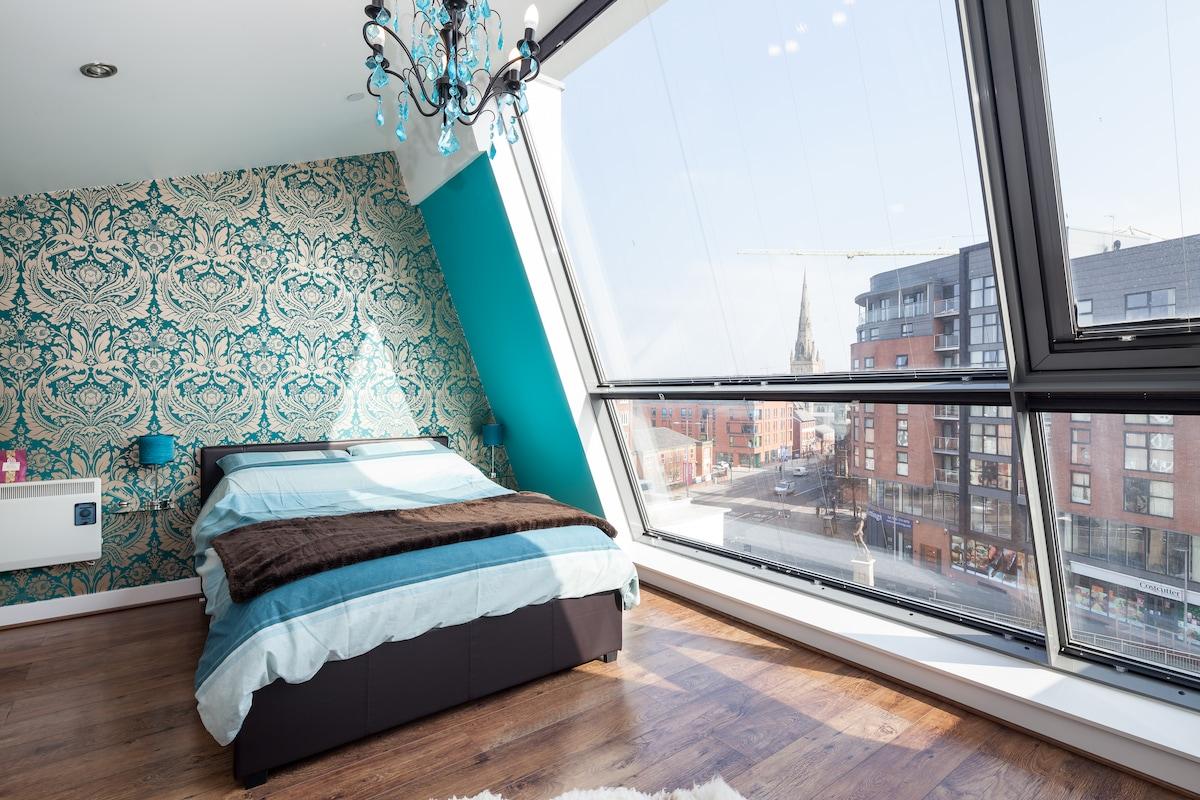 Spacious Artistic Duplex Apartment