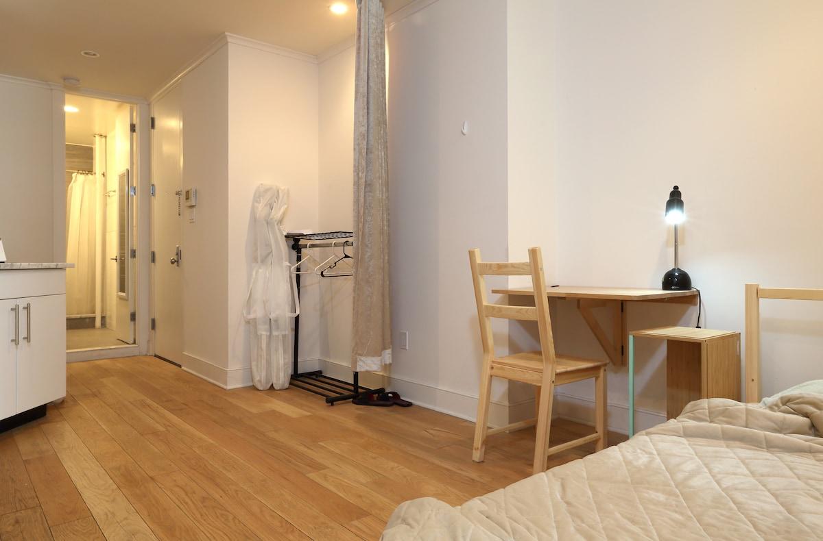 cozy warm living room in NY midtown