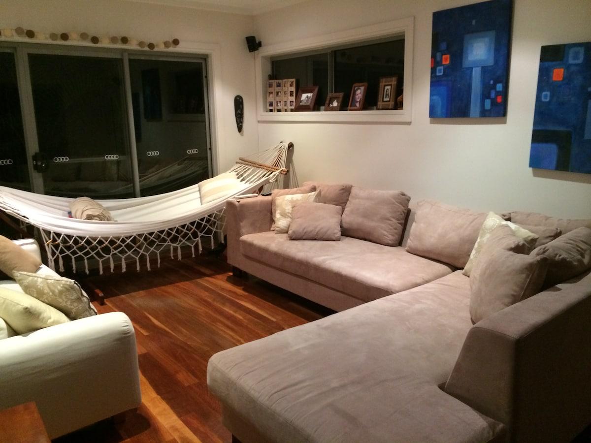 Modern family retreat in Sydney