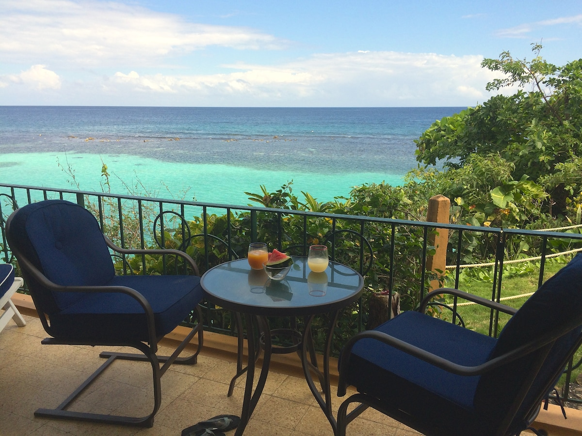 1 BR with panoramic Caribean view