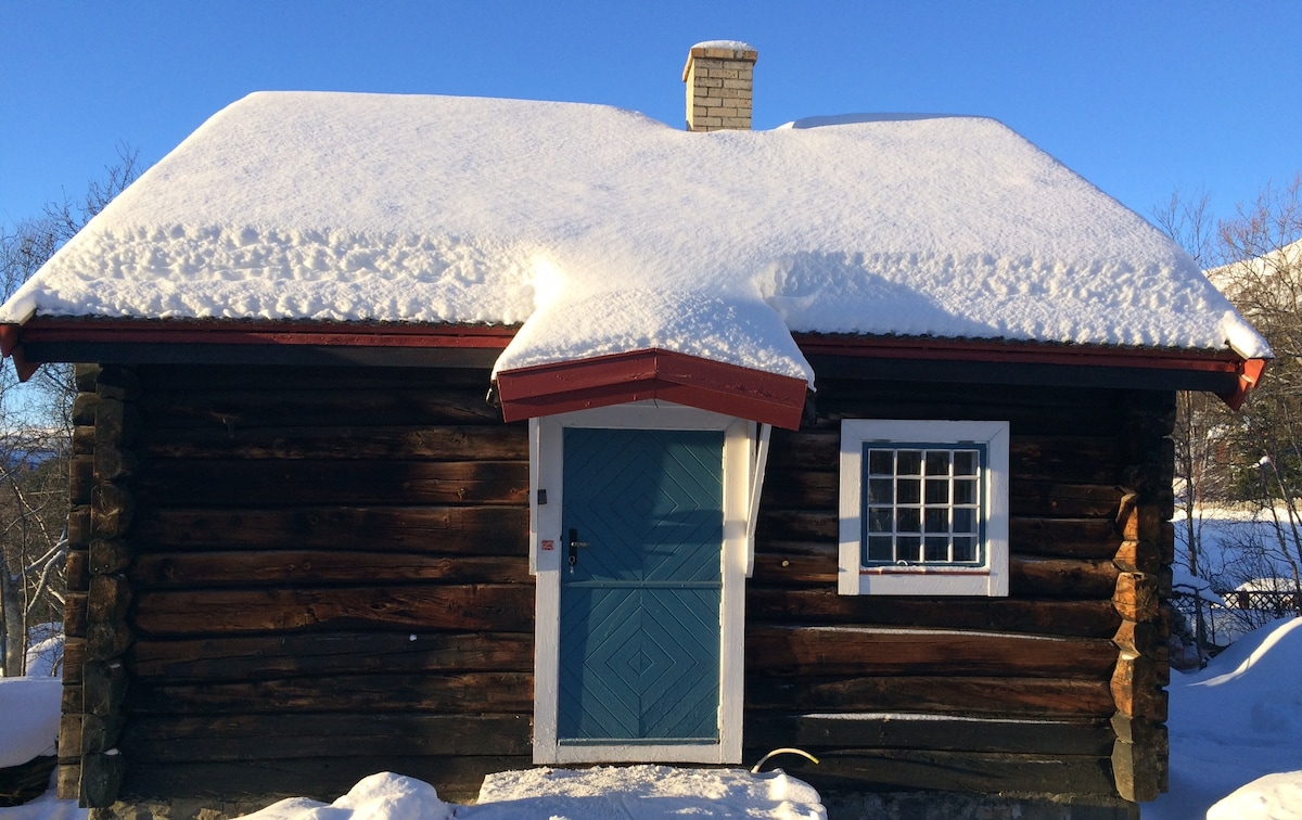 Old timber cabin, Geilo
