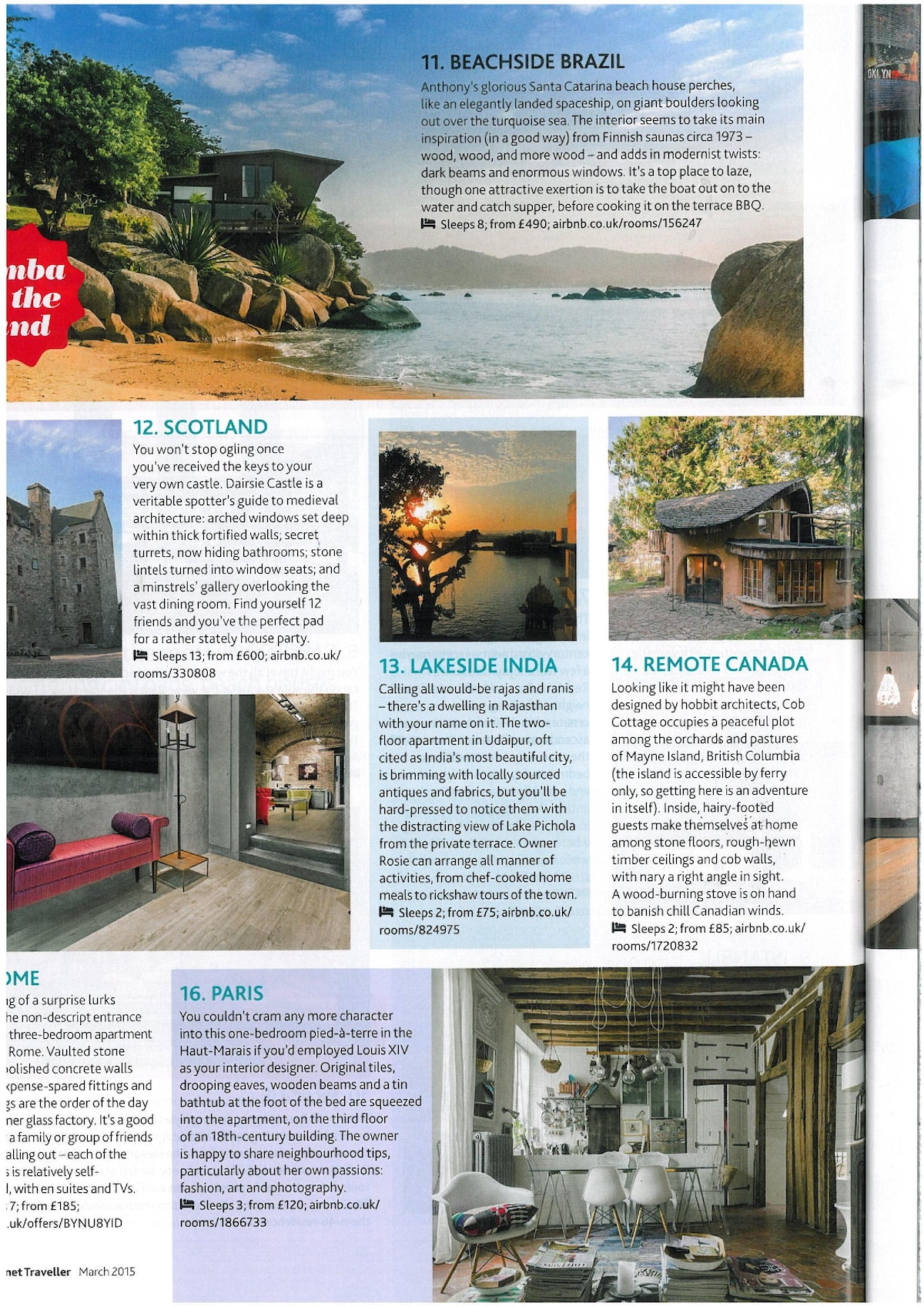 Lonely Planet magazine. March 2015.