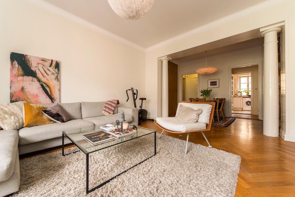 Rum i  lägenhet mitt i Stockholm!