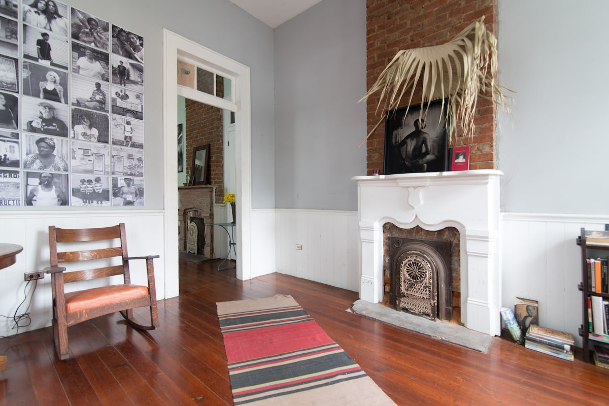Simple space in heart of Bywater