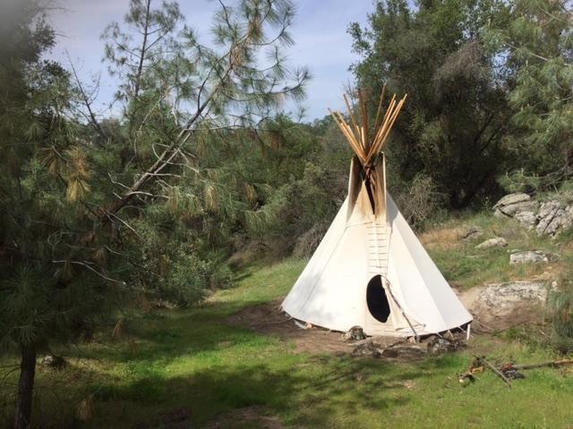 Tipi on 60 epic acres near Yosemite