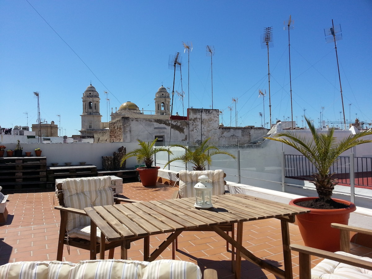 Ático en pleno centro de Cádiz