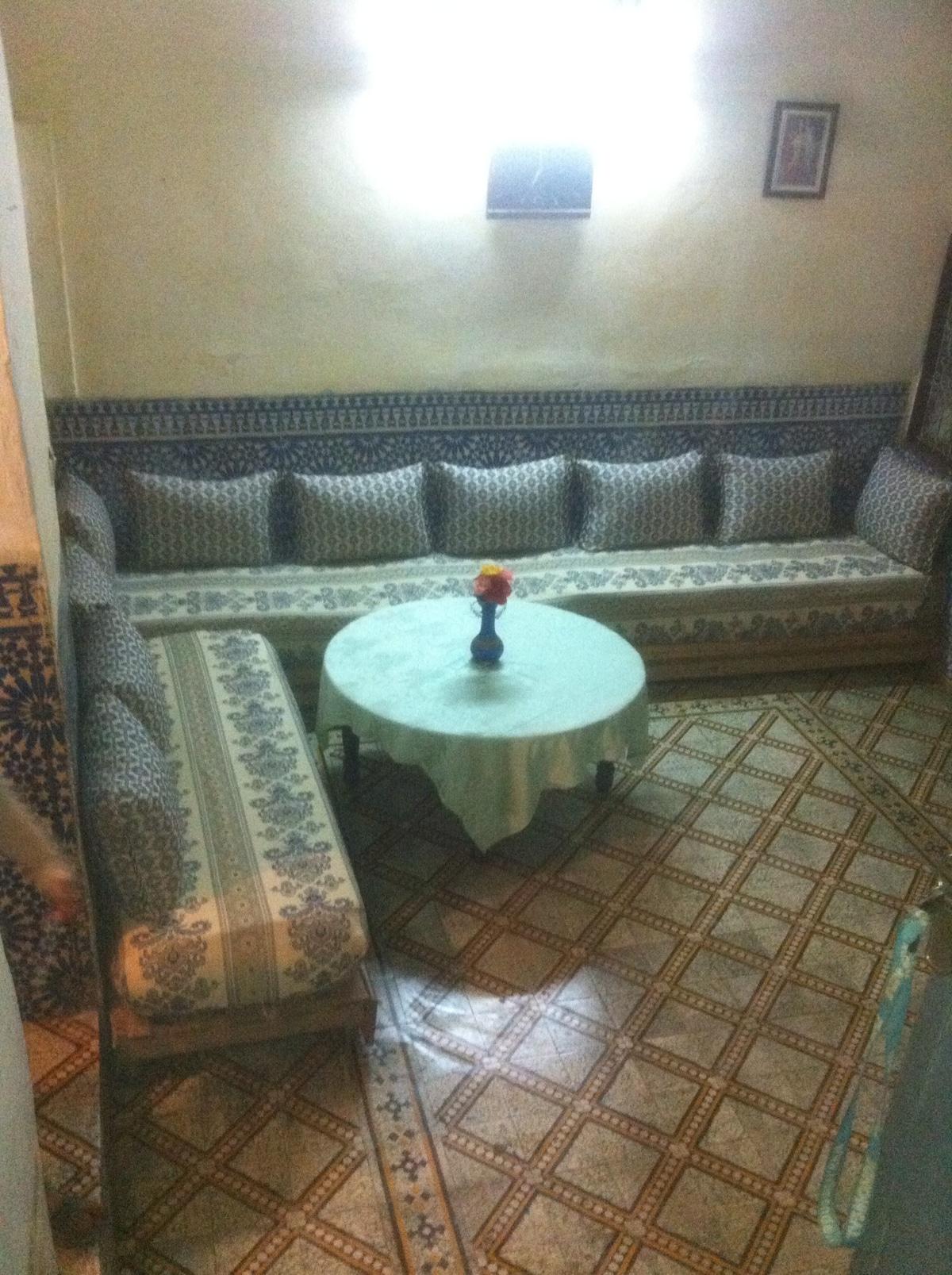 Family home in fes medina