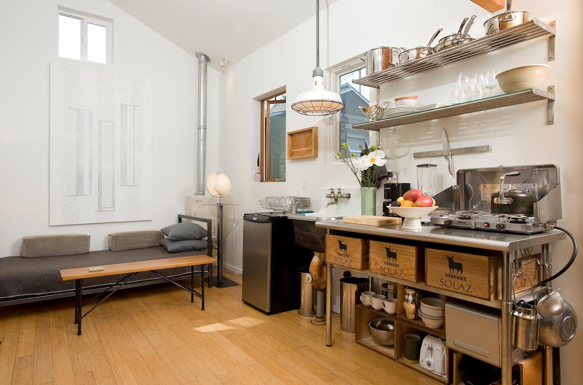 Mini House - Magazine Profiled Home