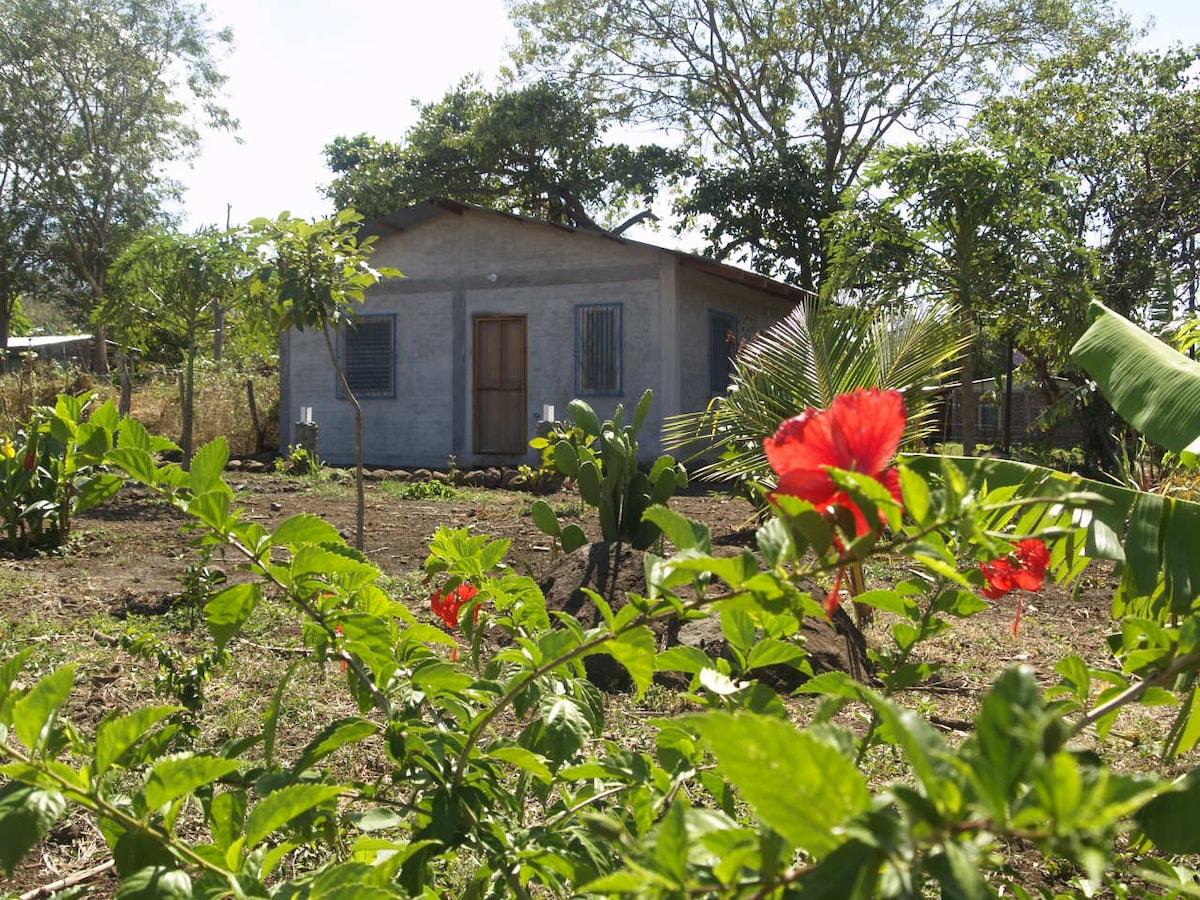 New house in Balgüe, Ometepe Island