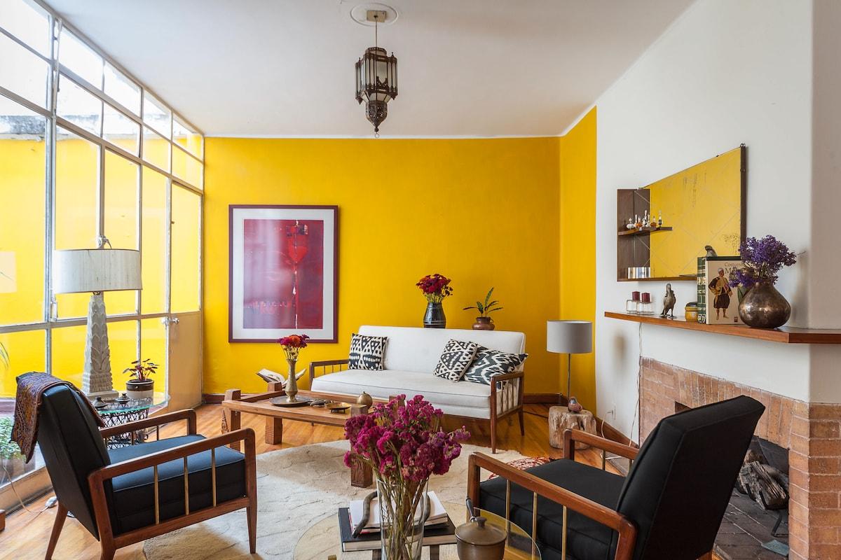 Beautiful apartment in la Condesa