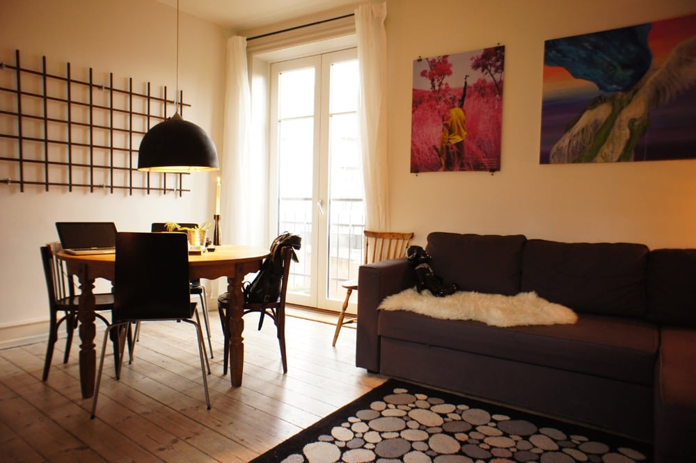 Cozy working class apartment.