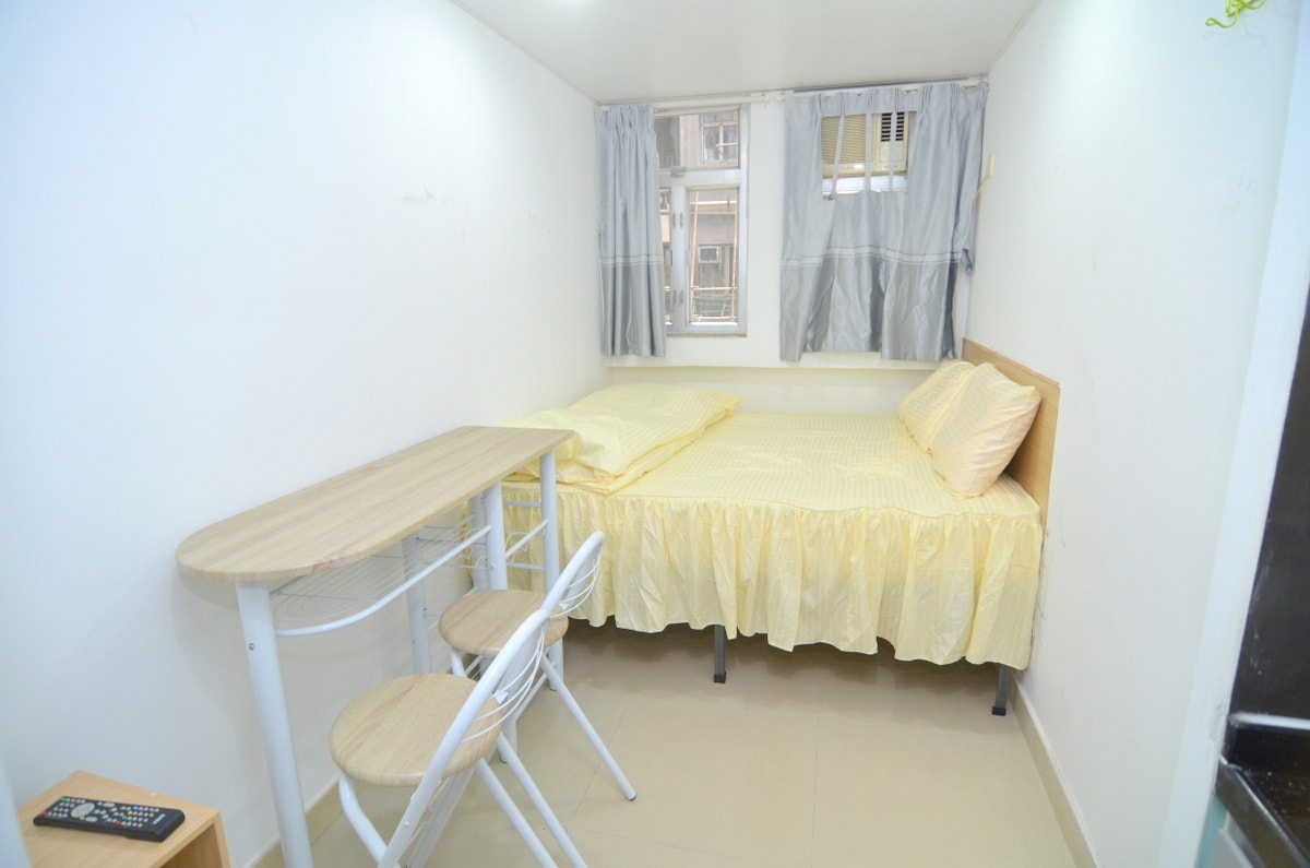 Bright studio + kitchen near MTR 7C
