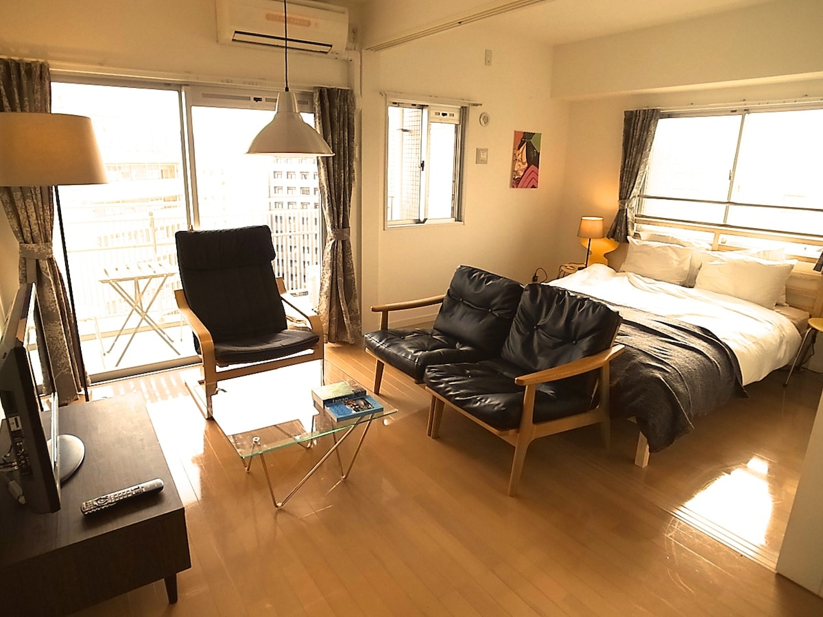 Great location 8min walk Hakata st