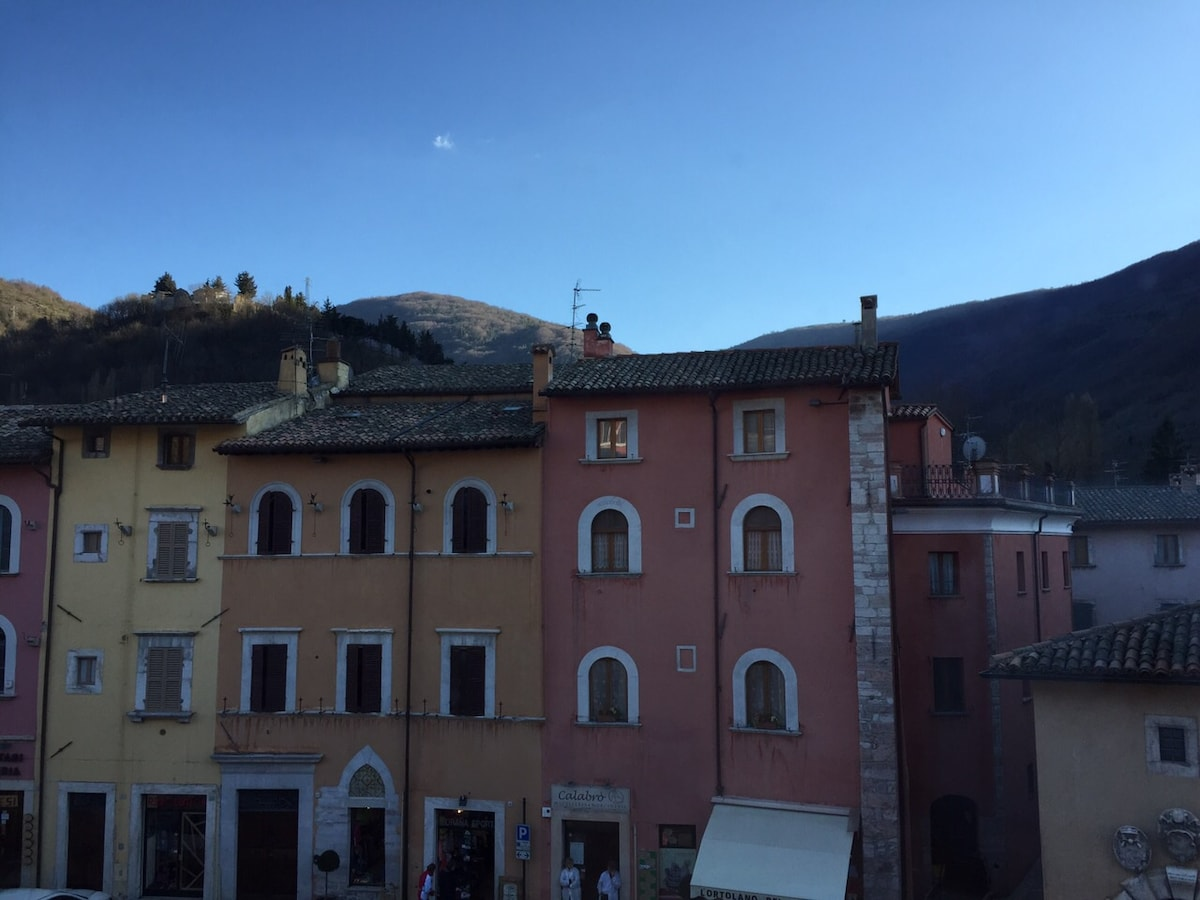 Charming flat in Monti Sibillini