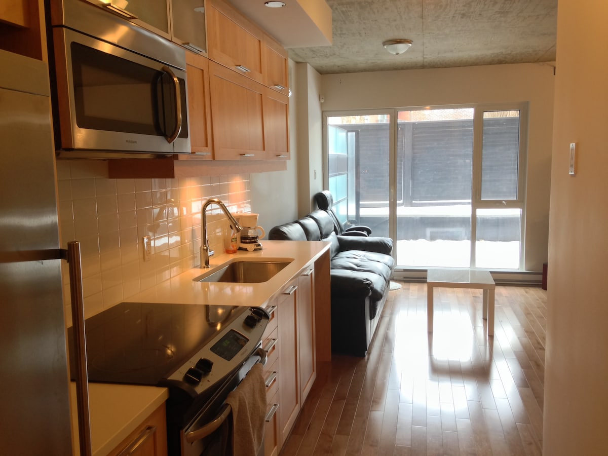 Griffintown Condo, near downtown