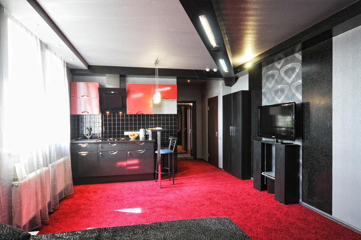 VS-Apartments - studio with kitchen