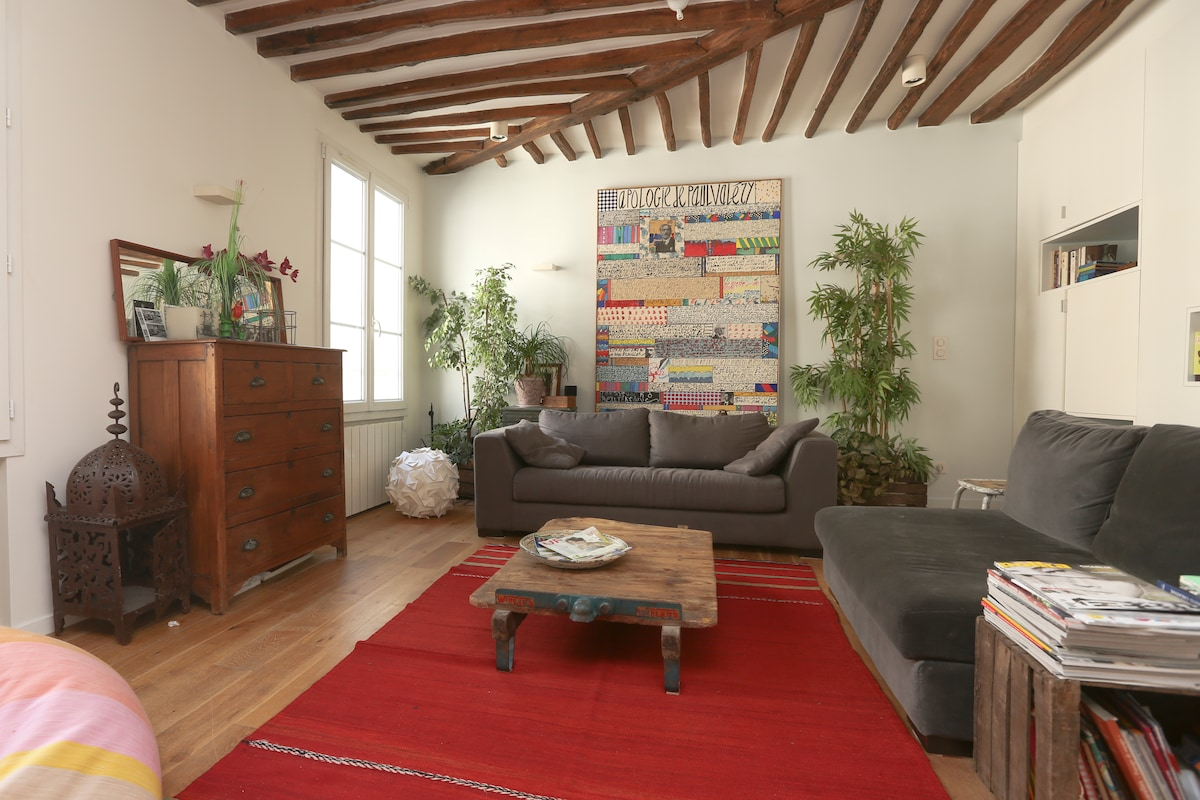 Cosy 2 rooms apartment in le Marais