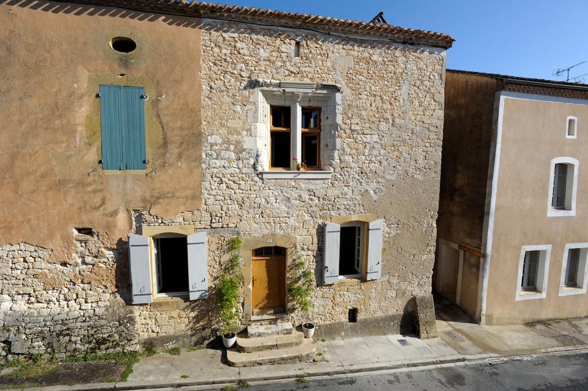 Idyllic retreat in medieval village