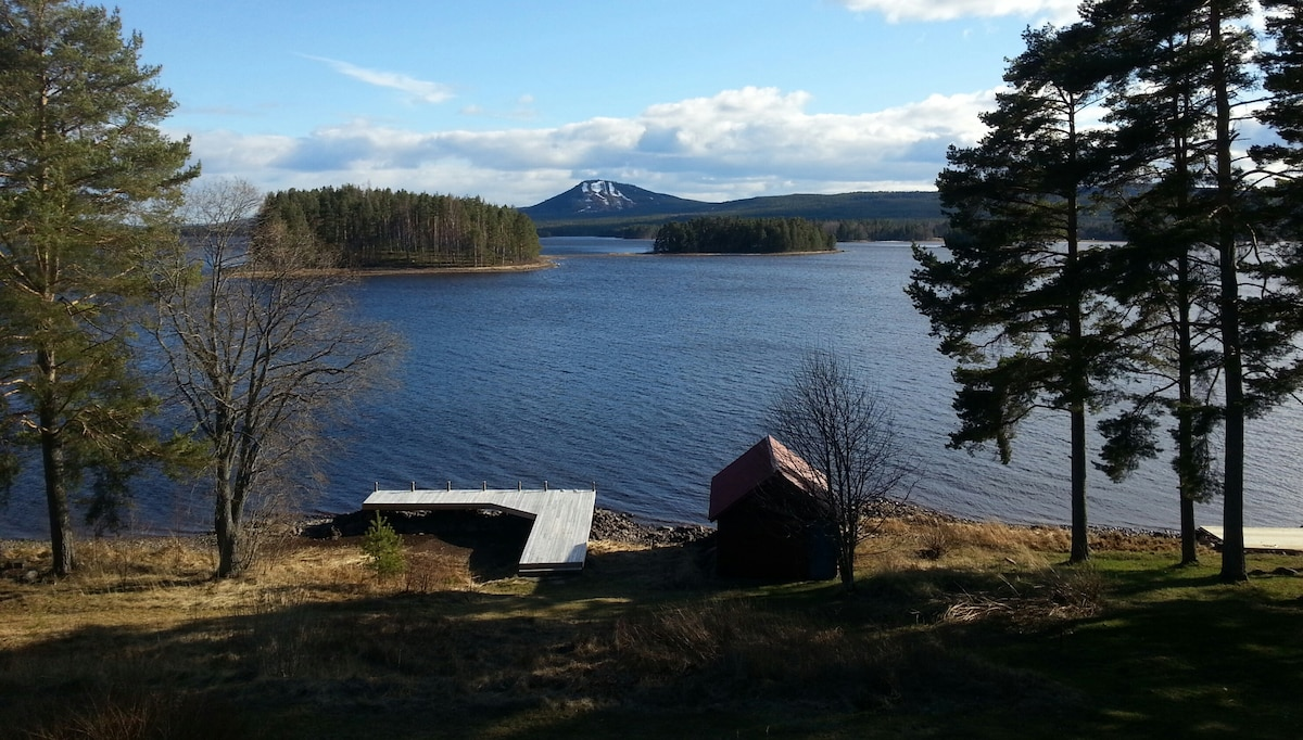 Swedish cottage at Lake Siljan Mora
