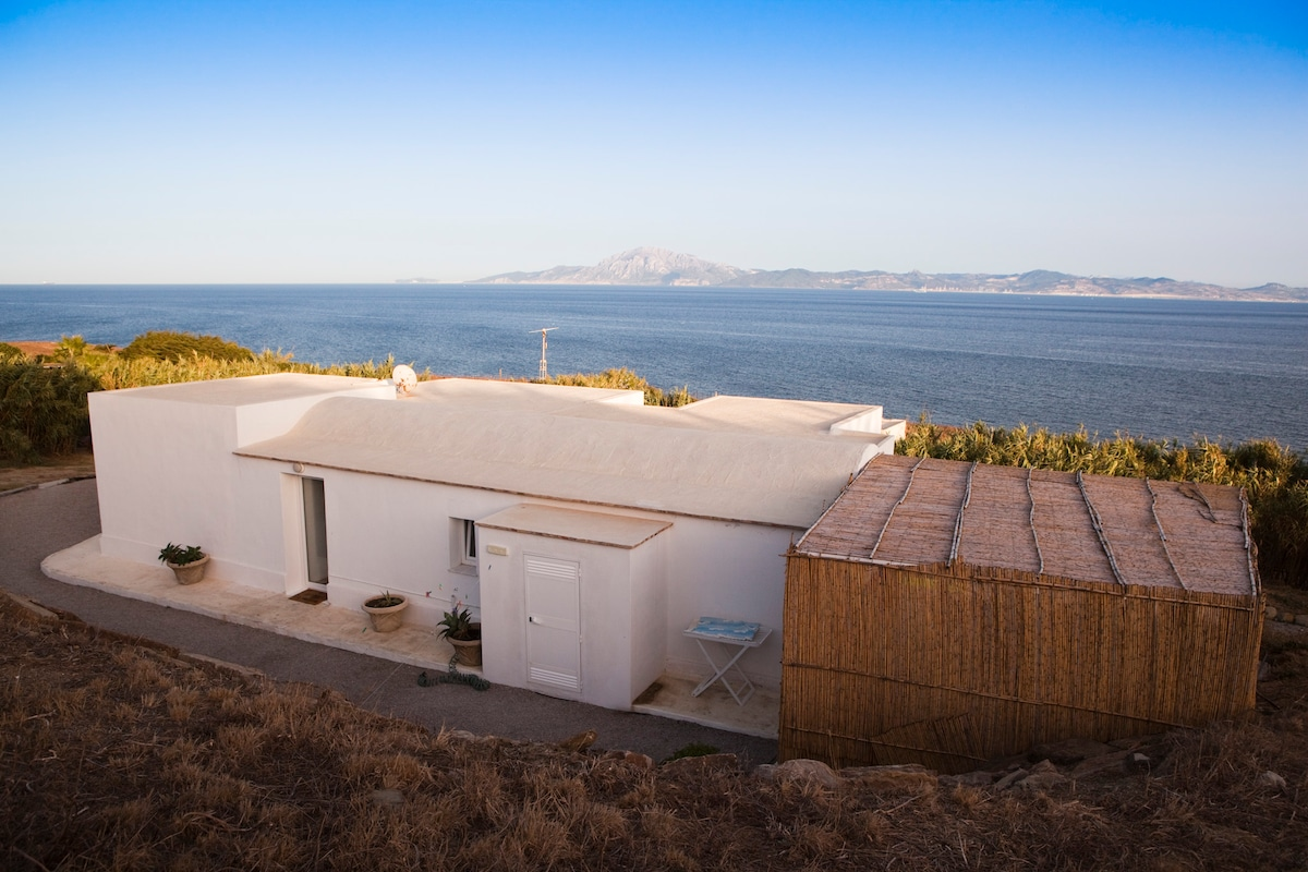 Genral view of the house. Mediterranean Sea and Atlantic Ocean meeting with Africa in the Backgroung !!